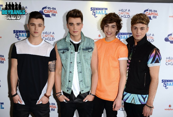 Union J  are a British boyband consisting Josh Cuthbert, JJ Hamblett, Jaymi Hensley and George Shelley who joined the three others in 2012 thru The X Factor.