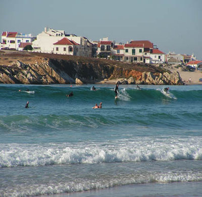 Surfing in Baleal