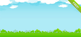 Web Siteleriniz ��in Do�al, �imen, Bulut Temal� Arkaplan