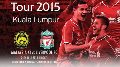 Malaysia XI vs Liverpool FC