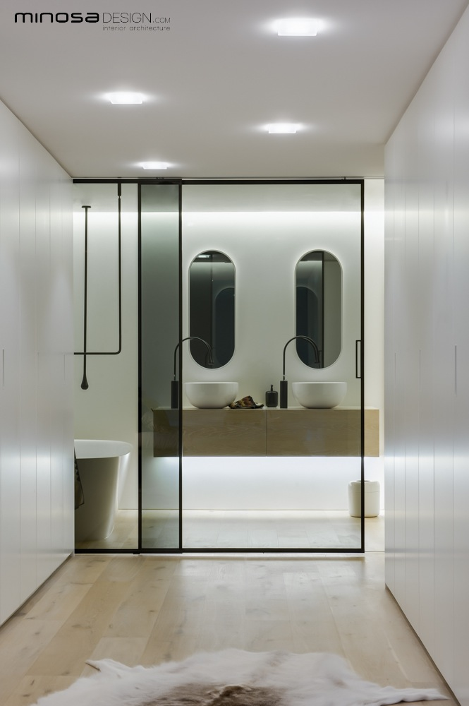 modern bathroom design 2013. Slick Bathroom Design By Minosa Modern 2013 0