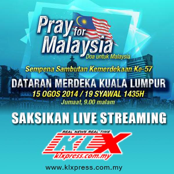 Siaran Langsung 'DOA UNTUK MALAYSIA'  #doauntukmalaysia #anakkl