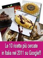 Le ricette piu' cercate nel 2011
