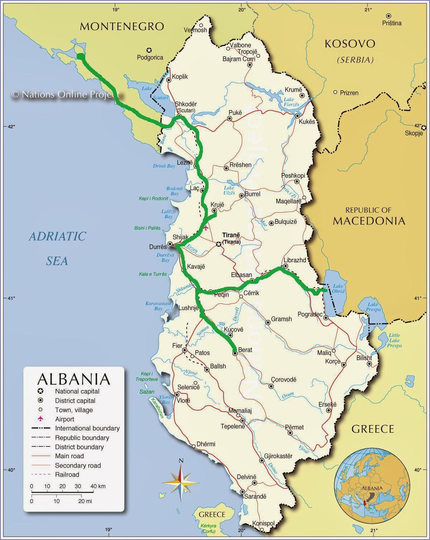 Souvenir Chronicles LOST IN ALBANIA