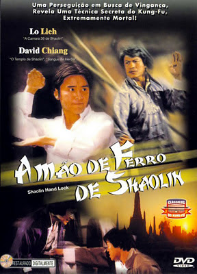 Capa - A Mão De Ferro De Shaolin