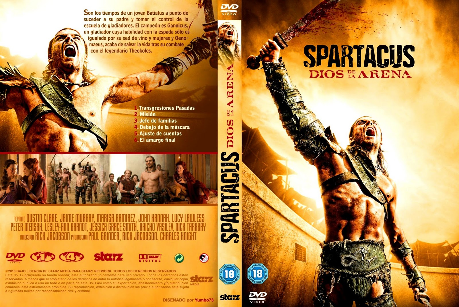 la serie cuenta la historia de spartacus el gladiador más famoso de ...