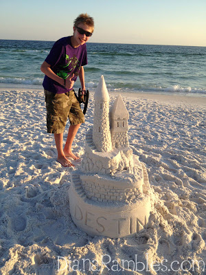 destin florida sand castle