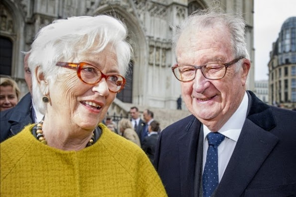 Belgium Royals Attended The Te Deum Mass On King's Day