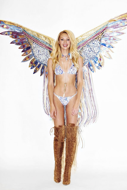 Fashion Model @ Candice Swanepoel – Victoria's Secret Fittings