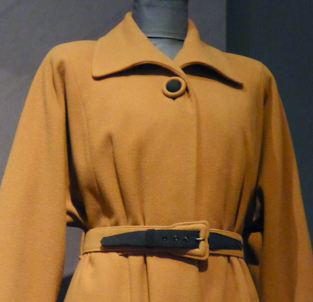 63b11c8d93 On display is for the first time is lingerie made from out-of-date RAF silk  maps for Countess Mountbatten.
