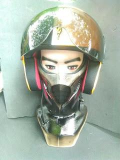 Mortal kombat IX mask smoke
