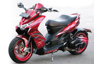 Modifikasi Motor on Modifikasi Motor Terbaru Yamaha Mio Soul Lowrider Jpg