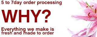 5 to 7 Day order processing