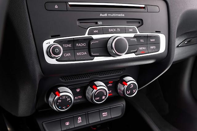 Novo Audi A1 2016 - sistema de som