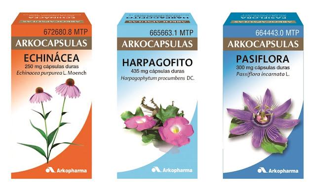 cápsulas de plantas medicinales para los trastornos más frecuentes