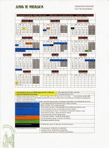 Calendario Escolar curso 2014-15