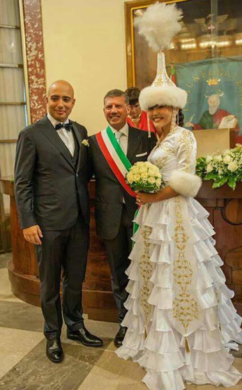 Matrimonio In Kazakistan : Informabellizzi un bellizzese sposa una signorina del