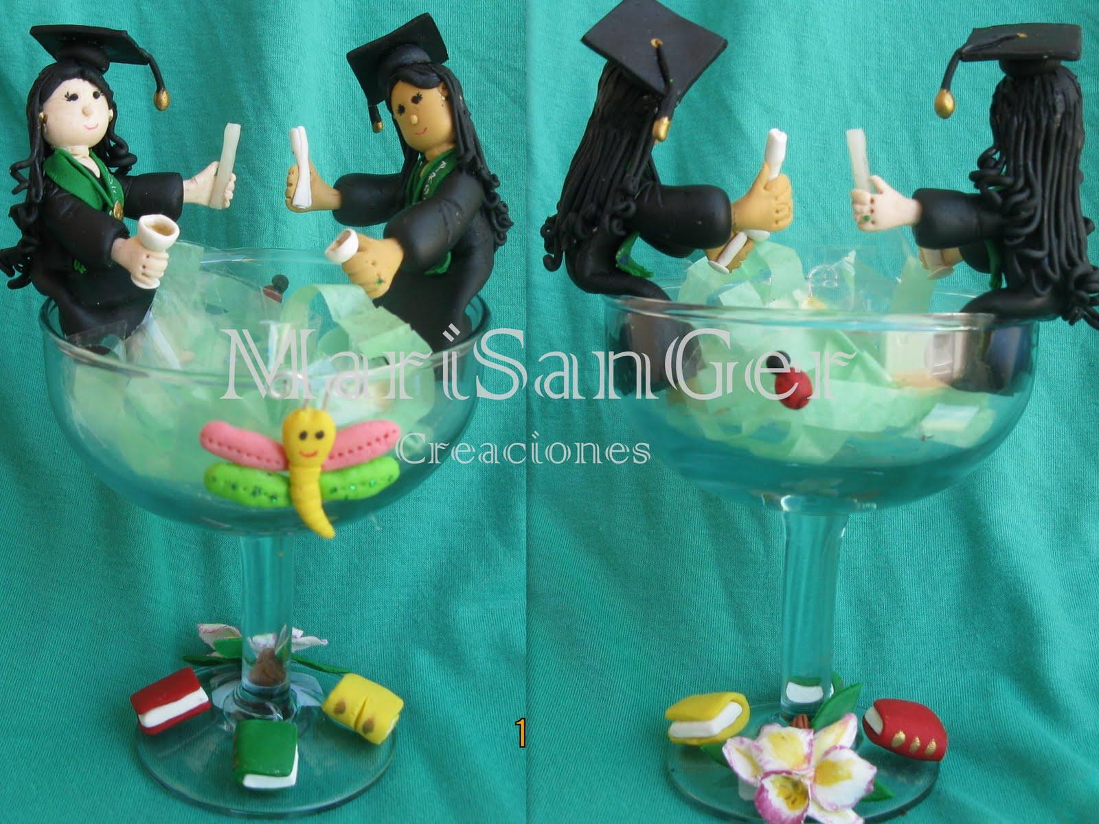 Graduacion Decoracion ~ Recuerditos Graduacion Masa Flexible Ideas Para Decoracion Picture