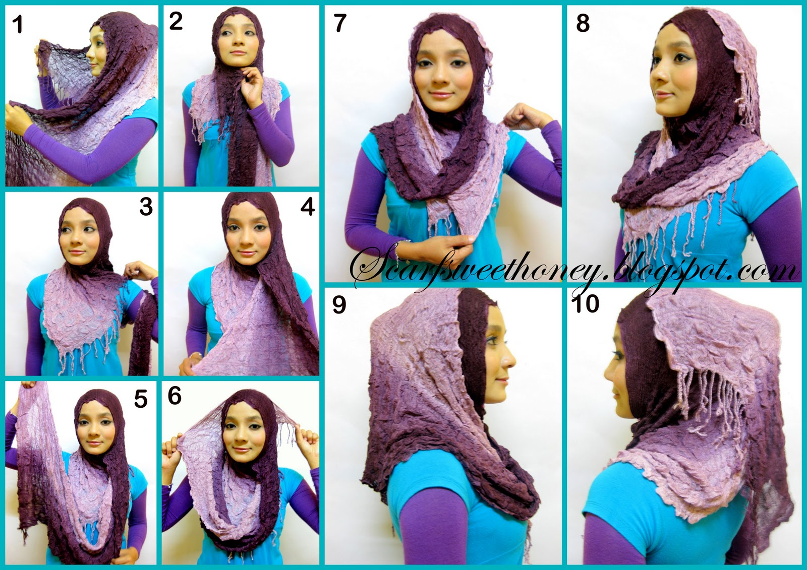 ISLAMIC FASHION [part 2]: How to wear Hijab Indonesian Style Tutorial