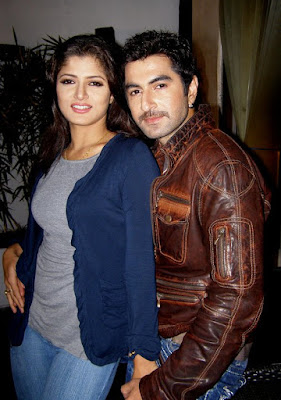 Actor Jeet and His Wife