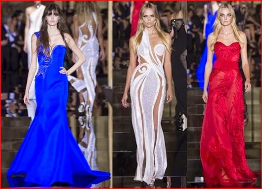 Versace Frühjahr/Sommer 2015 Haute Couture Kollektion