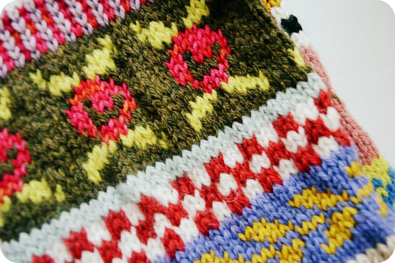 knitting :