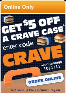 White castle crave case coupons