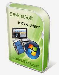 برنامج تقطيع الفيديو والملفات الصوتية الى اجزاء EasiestSoft Movie Editor 4.6.0