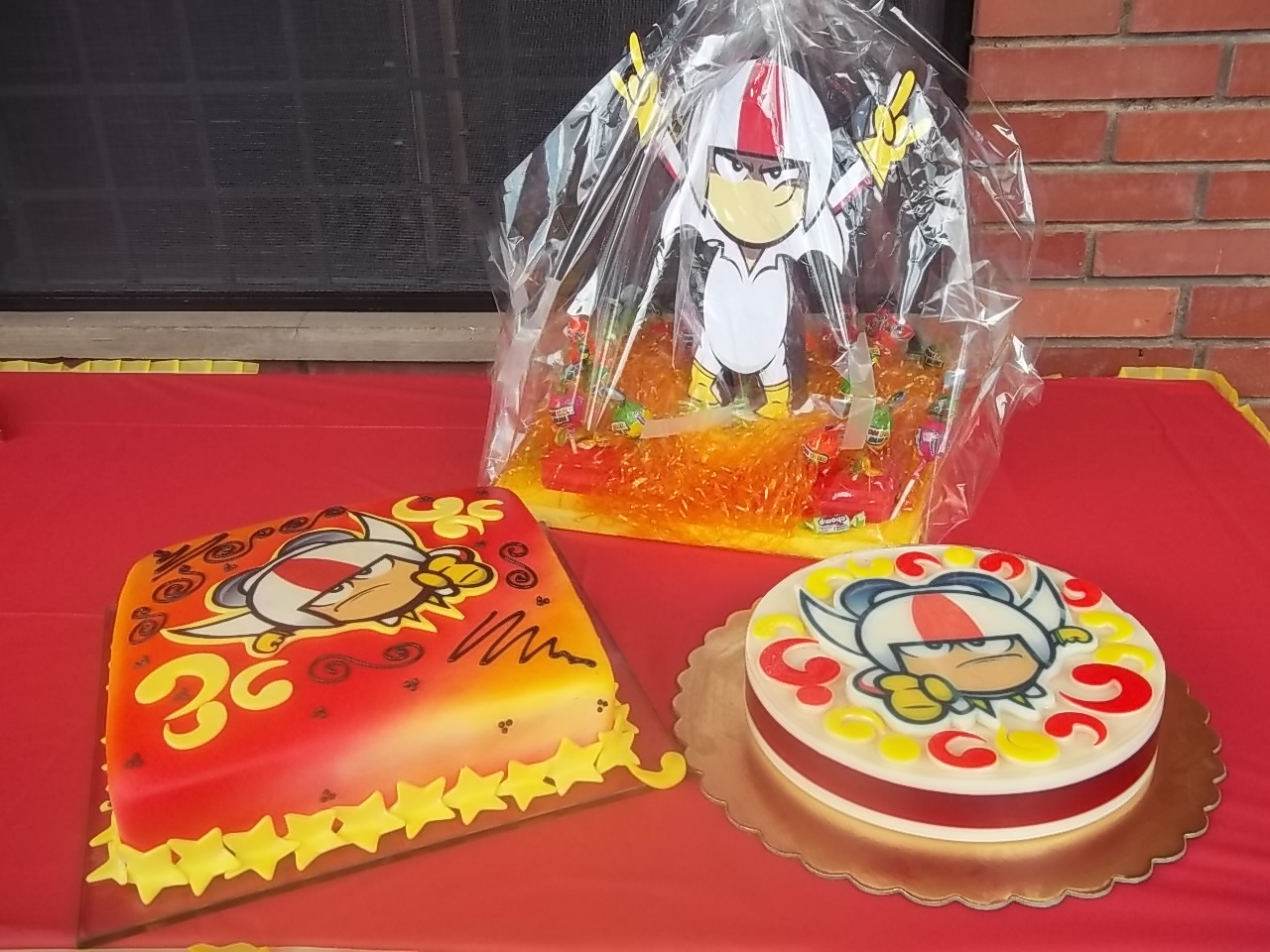 Kick Buttowski Cake  Para Jes  S Alejandro
