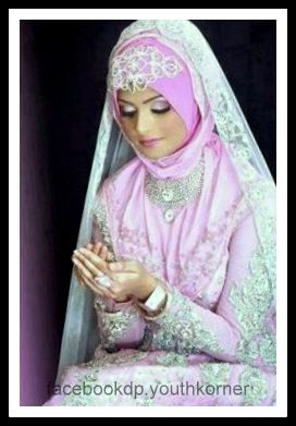 Beautiful Bride In Hijab Dp 2016