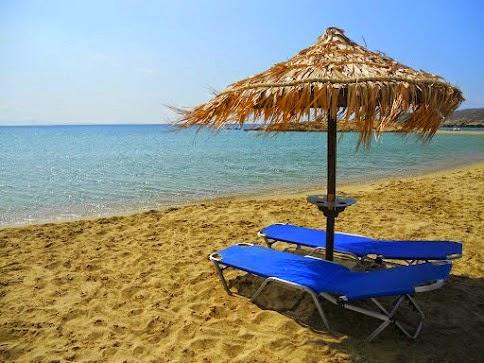 Sombreiro em Manganari Beach