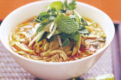healthy Chicken laksa