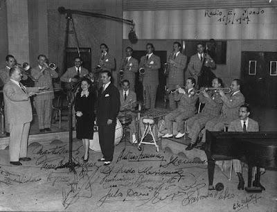 Héctor y su Jazz - Radio el Mundo Enero 17 de 1947