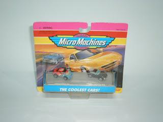 Micro Machines Ferrari Daytona Spyder Convertible Yellow 1994 LGTI Good Cond