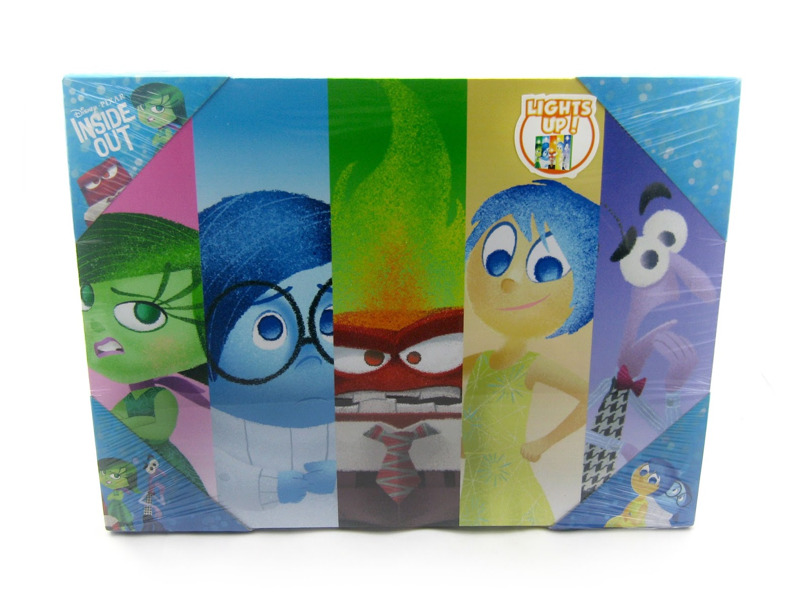 Sold Exclusively At Walmart And Walmart.com, Here We Have The New Inside  Out Inspired Light Up LED Wrapped Canvas Wall Art! This Is A Very Cool And  Colorful ...