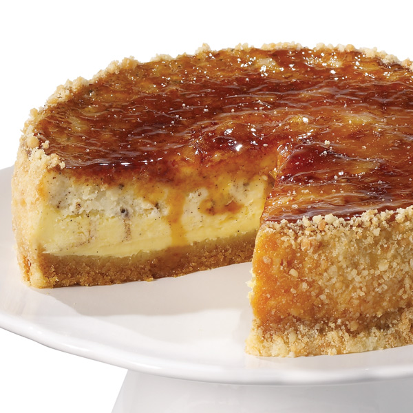Home Style with a Side of Gourmet: Creme Brulee Cheesecake