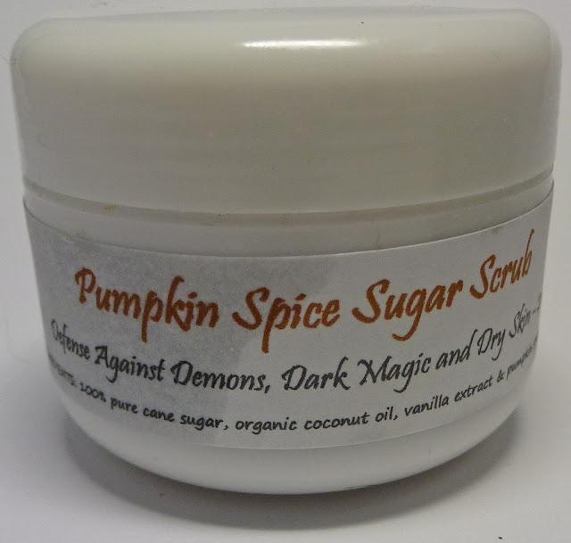 Supernatural Lacquer Pumpkin Spice Sugar Scrub