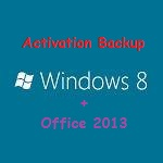 Backup Aktivasi Windows 8 Dan Microsoft Office 2013