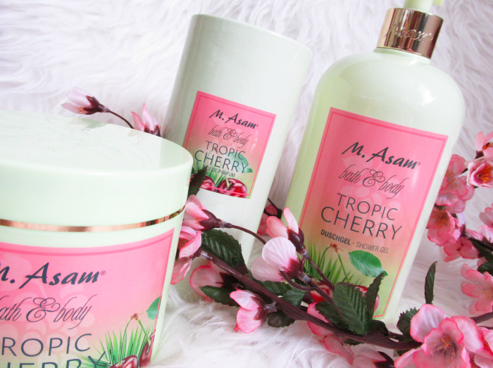 Review: M.Asam Tropic Cherry Bath & Body