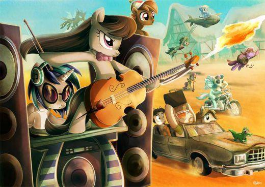 'Mad Pony — Friendship Road'