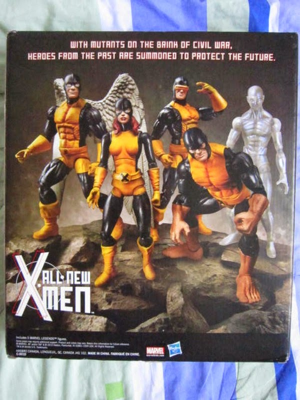 Marvel Legends X-men First Class Days of Future Past mutants TRU Toys R US exclusive box set Professor X Xavier school Cyclops Scott Summers Marvel Girl Jean Grey Beast Hank McCoy Angel Warren Iceman Bobby