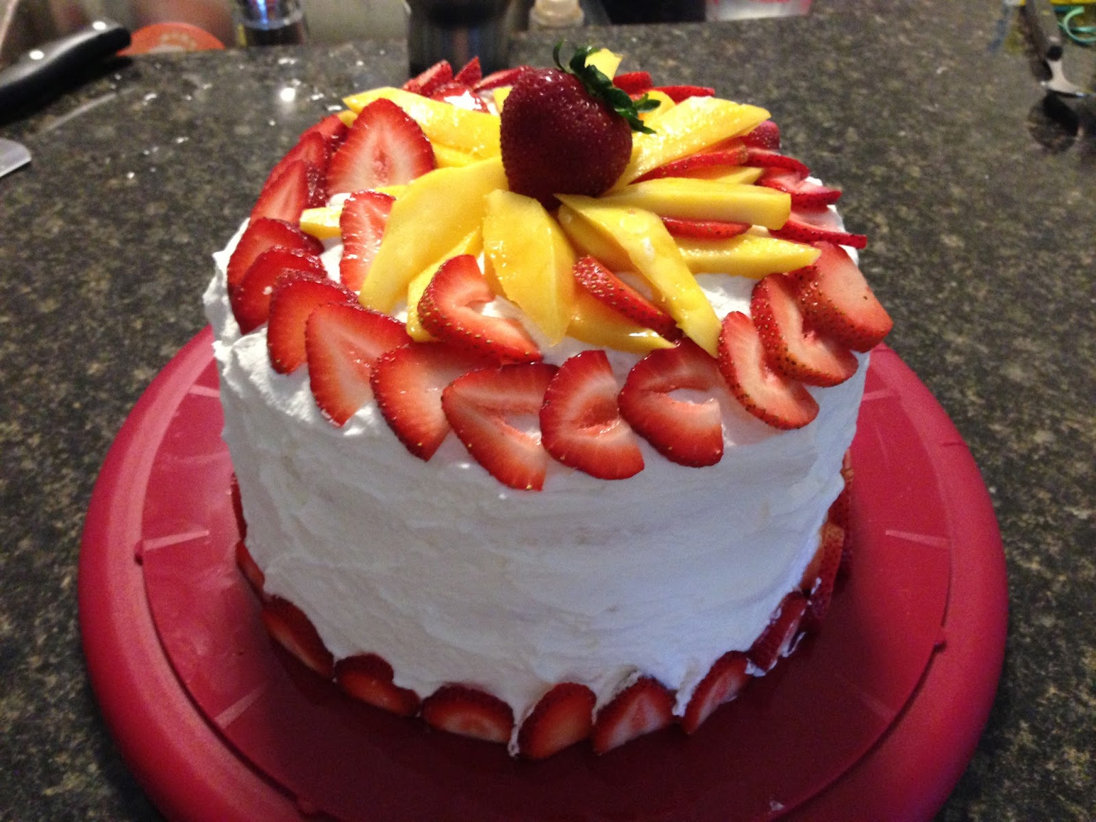 asian fruit cake