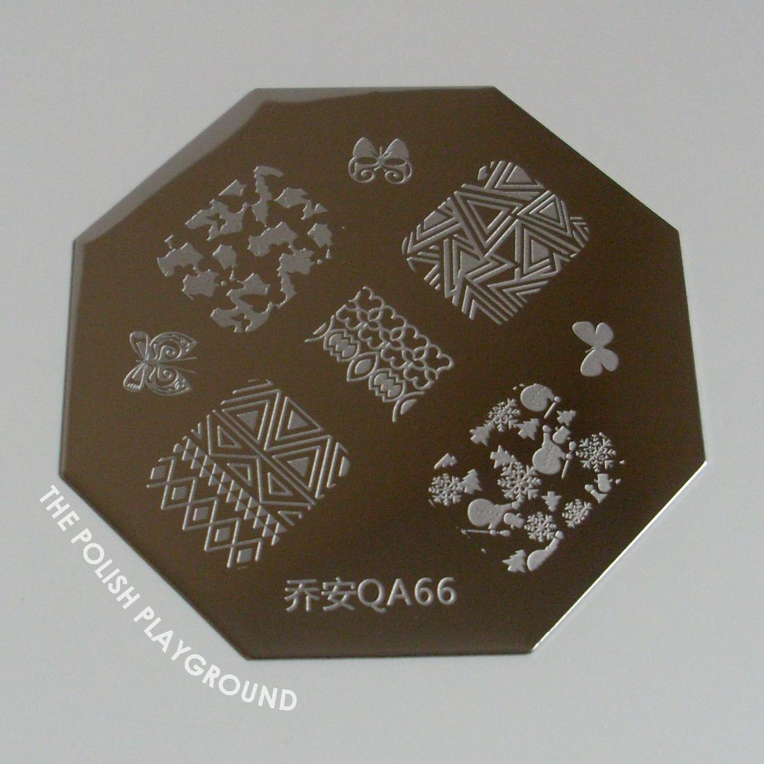 Born Pretty Store QA66 Nail Stamping Plate