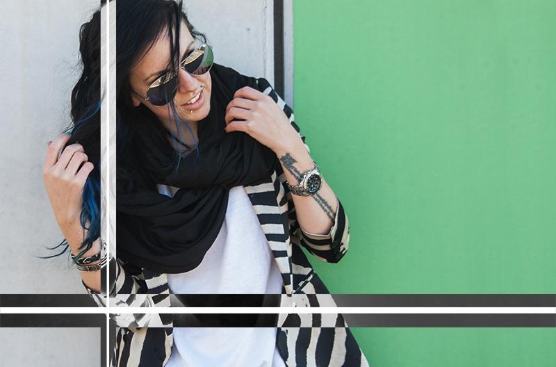 For Peet's Sake blog zebra Zara blazer mirror aviator sunglasses
