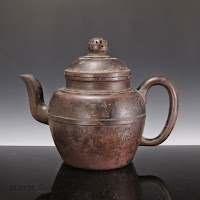Ming Yixing Inscribed Teapot
