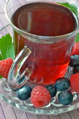 Fruit Tea Healthy Health Living Caffeine Free