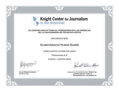 Periodismo 2.0 2009