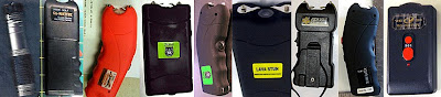 Stun Guns Discovered at (Left to Right) BOS, LAS, LGB, MCI, OAK, ORF, RDU, CHS, TUL