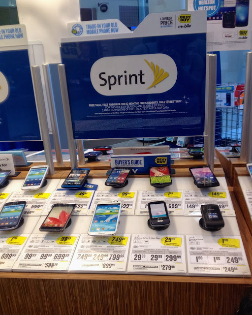 Learn how to save on your mobile phone bill with Sprint My Way plan #APlusPlan #shop