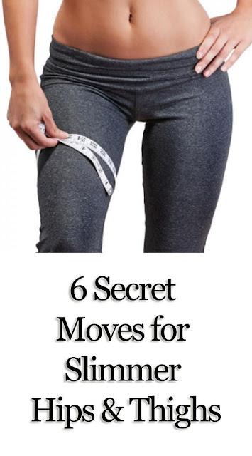 6 Secret Moves For Slimmer Hips and Thighs